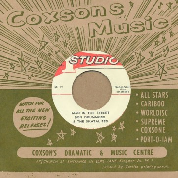 """STUDIO ONE ALL STARS/ DON DRUMMOND & THE SKATALITES """"Give Me One More Kiss / Man In The Street"""" 7"""""""