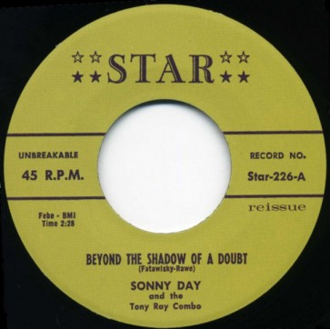 """DAY, SONNY """"Beyond The Shadow Of A Doubt"""" 7"""""""