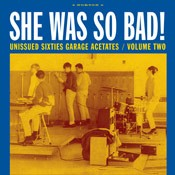 VARIOUS ARTISTS 'She Was So Bad! (Unissued Sixties Garage Acetates V 2)' LP