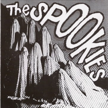 """THE SPOOKIES """"(Sorry Baby) I Fell Asleep"""" 7"""" (Black & White cover)"""