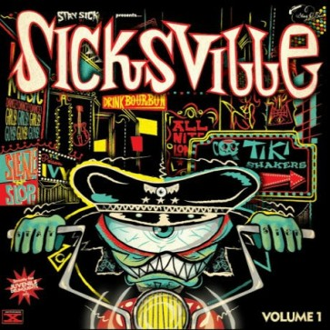 "VARIOUS ARTISTS ""Sicksville Vol. 1"" 10"""