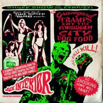 "VARIOUS ARTISTS ""Graveyard Tramps Eat The Forbidden City Dog Food"" (2x10"")"