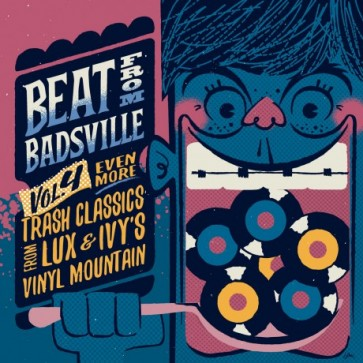 """BEAT FROM BADSVILLE """"Trash Classics From Lux And Ivy's Vinyl Mountain Volume 4"""" (2x10"""")"""