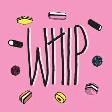 """WHIP """"S/T"""" 7"""""""