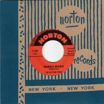 "THE RHYTHM TONES ""Wobble Wickie / BOB VIDONE AND THE RHYTHM ROCKERS  ""Weird"" 7"""