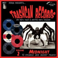 "VARIOUS ARTISTS ""Trashcan Records Volume 2: Midnight"" 10"""