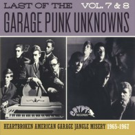 "VARIOUS ARTISTS ""The Last Of The Garage Punk Unknowns Vol. 7+8"" CD"