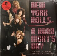 "NEW YORK DOLLS ""A Hard Night's Day"" (2xLP) (PURPLE vinyl)"