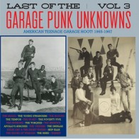 """VARIOUS ARTISTS """"The Last Of The Garage Punk Unknowns Volume 3"""" LP (Gatefold)"""