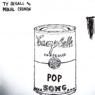"""TY SEGALL and MIKAL CRONIN """"Pop Song"""" 7"""" (Repress)"""