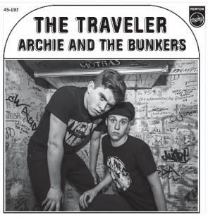 """ARCHIE AND THE BUNKERS """"The Traveler"""" 7"""""""