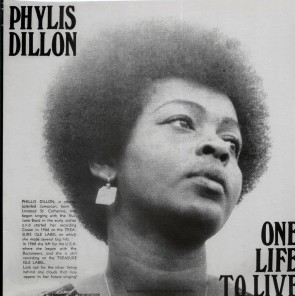 """PHYLLIS DILLON """"One Life To Live"""" LP"""