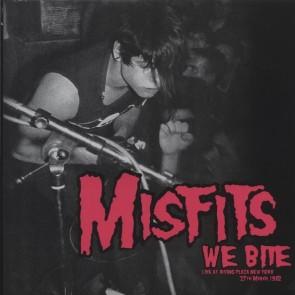 "MISFITS ""We Bite: Live At Irving Plaza, New York, 27th March 1982"" LP (PINK vinyl)"