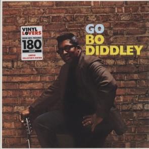 """DIDDLEY, BO """"Go Bo Diddley"""" LP (Remastered, 180 gm. vinyl)"""