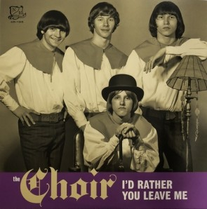 """THE CHOIR """" I'd Rather You Leave Me / I Only Did It 'Cause I Felt So Lonely"""" (PURPLE vinyl) 7"""""""