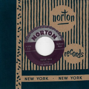 "ARTESIANS ""Trick Bag"" / WOODY CARR AND THE EL CAMINOS ""My Woman"" 7"""