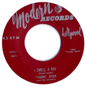 "YOUNG JESSIE ""I Smell A Rat"" 7"""