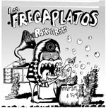 LOS FREGAPLATOS 'Ritual' b/w 'Macho Rock'n'roll' & 'Ain't Got You' 7in
