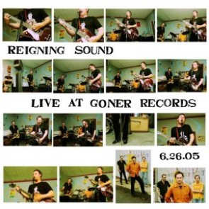 "REIGNING SOUND ""Live At Goner Records"" LP"