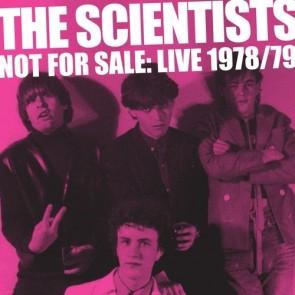 """SCIENTISTS """"Not For Sale: Live '78/'79"""" (2xLP)"""