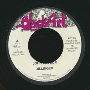 "DILLINGER/ DAVID ISSACS ""John Devour / A Place In The Sun"" 7"""