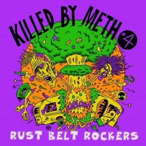 """VARIOUS ARTISTS """"Killed By Meth Vol. 4"""" LP"""
