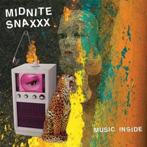 "MIDNITE SNAXXX ""Music Inside"" LP (TURQUOISE vinyl)"