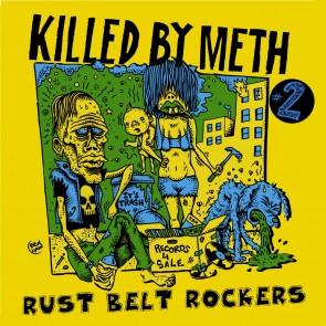 """VARIOUS ARTISTS """"Killed By Meth #2 Rust Belt Rockers"""" LP"""