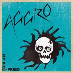 "AGGRO ""My Vice/ Fried"" 7"" (Clear vinyl)"
