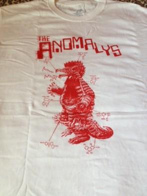 ANOMALYS T-SHIRT WHITE (Medium)