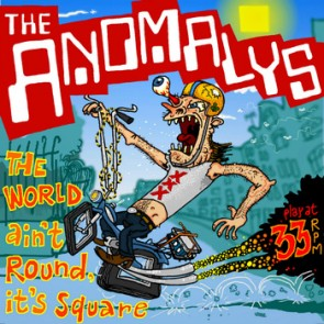 """THE ANOMALYS """"The World Ain't Round, It's Square"""" EP (Flexi)"""
