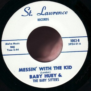 "BABY HUEY & THE BABYSITTERS ""Monkey Man / Messin' With The Kid"" 7"""