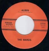 """BARDS """"Alibis/ Thanks A Lot Baby"""" 7"""""""