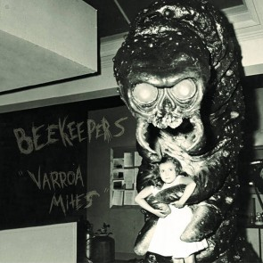 "BEEKEEPERS ""Varroa Mites"" LP (Blue insert, colored vinyl)"