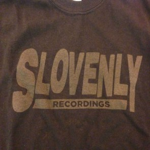 SLOVENLY BLACK BLOCK T-SHIRT WOMEN'S (LARGE)