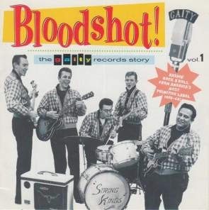 """VARIOUS ARTISTS """"Bloodshot Vol. 1"""" LP"""