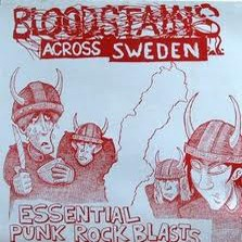 "VARIOUS ARTISTS ""Bloodstains Across Sweden Vol. 1"" LP"