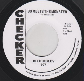 "DIDDLEY, BO ""Bo Meets The Monster / Willie And Lillie"" 7"""