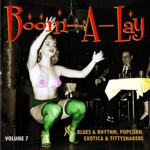 "SPOONFUL EXOTIC BLUES & RHYTHM ""Volume 7: Boom-A-Lay"" 10"""