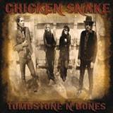 "CHICKEN SNAKE ""Tombstone' n' Bones"" LP"