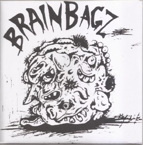 "BRAIN BAGZ ""Naughty Man""  7"" (Cover 2)"