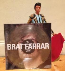"""BRAT FARRAR """"S/T"""" LP (Limited, clear wax)"""