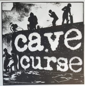 "CAVE CURSE ""Buried / Trash People"" 7"" (Cover 1)"