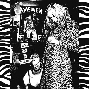"THE CAVEMEN ""Dog on a Chain"" EP (Black Vinyl)"