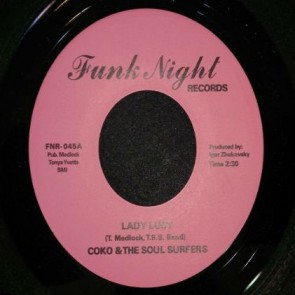"COKO & THE SOUL SURFERS ""Lady Lucy / Wicked"" 7"""