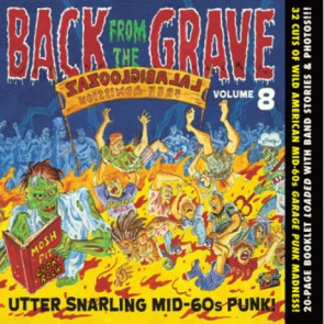 "VARIOUS ARTISTS ""Back from the Grave Vol. 8"" CD"