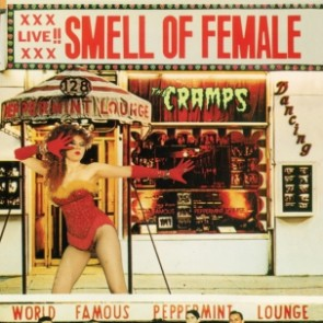 "CRAMPS ""Smell Of Female"" LP (RED vinyl)"