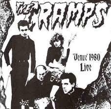 "CRAMPS ""Venue 1980 Live"" 7"" (GREEN vinyl)"