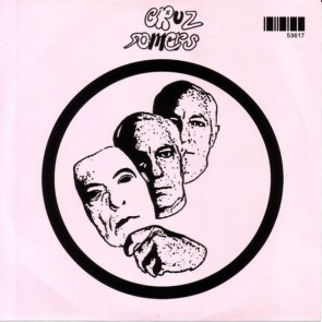 """CRUZ SOMERS """"Sit & Stare"""" 7"""" (Pink cover)"""