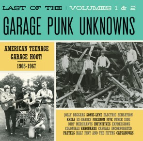 "VARIOUS ARTISTS ""The Last Of The Garage Punk Unknowns Volume 1+2"" CD"